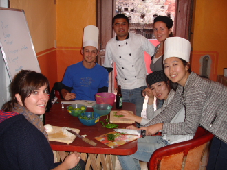 Cultural Exchange: Cooking classes